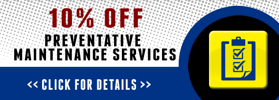 10% Off Preventative Maintenance Services