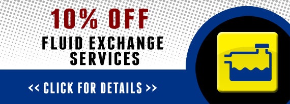 10% Off Fluid Exchange Services.